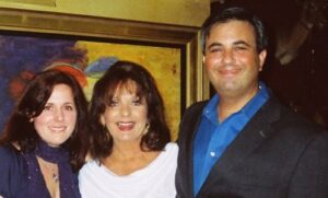 (L to R) Samantha Hale (granddaughter of Samantha Hale), Dawn Wells, and Bill Funt